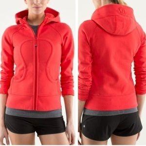 Lululemon | Red Scuba Jacket (S)